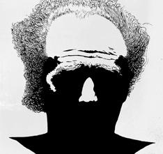 Carlo Gajani - Autoritratto, acrilico su tela 1975